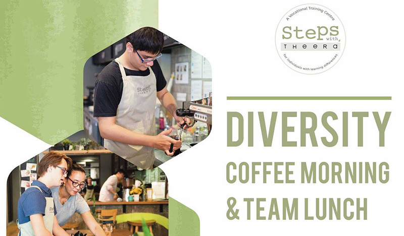 Steps Diversity Coffee Morning & Team Lunch