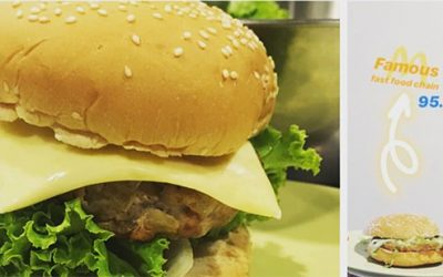 Steps made Homemade Burger