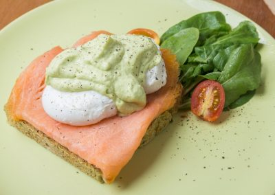 Poached Egg & Salmon