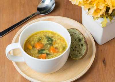 Lentil-Cauliflower Soup