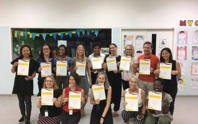 Bangkok teachers hit new speech and language milestone