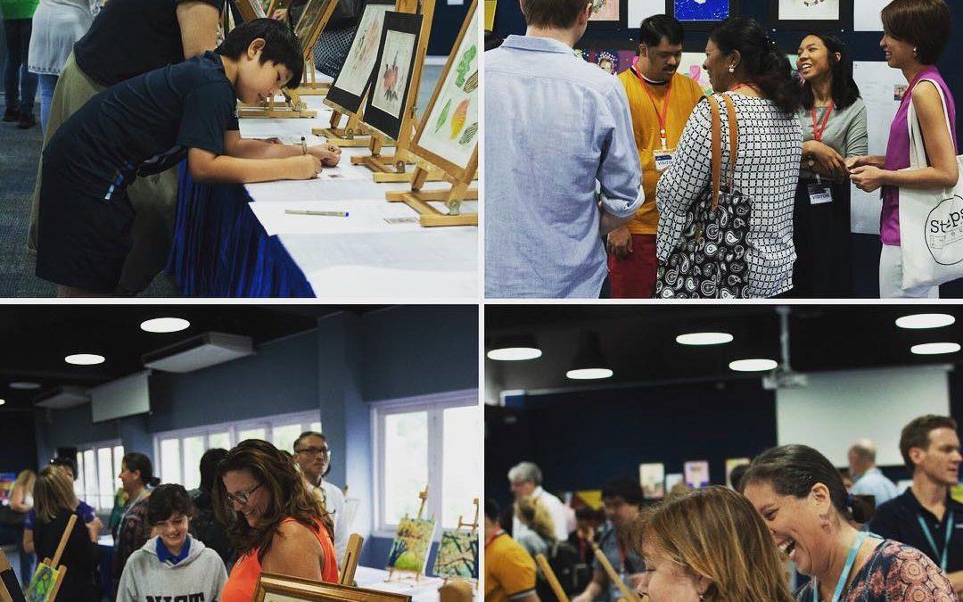 Art Relief Crew at NIST organized Art Auction