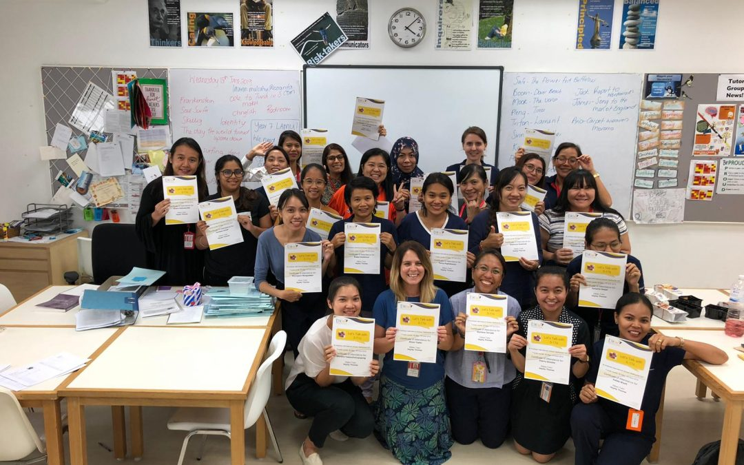 Bangkok teaching assistants achieve a first for Thailand