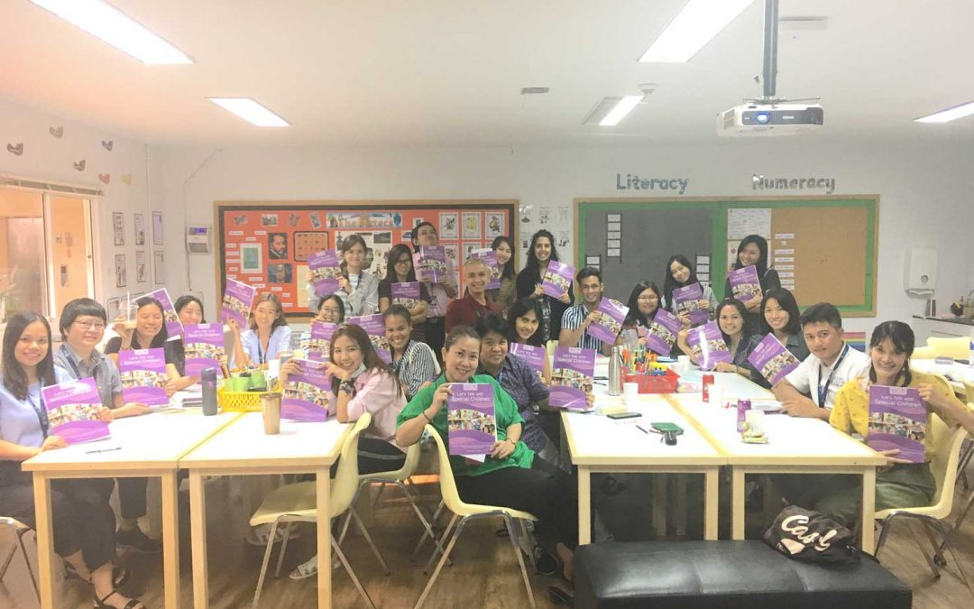St Andrews teaching assistants first in Thailand to complete Let's Talk training